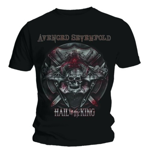 Avenged Sevenfold Battle Armour T Shirt (XL)