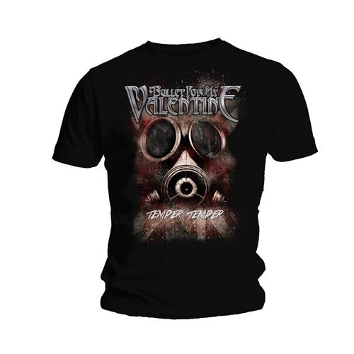 Bullet for my Valentine Temper Temper Gas Mask T Shirt