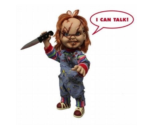 "15"" Talking Chucky (with scars)"