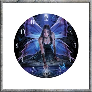 Anne Stokes Wall Clock - Immortal Flight (small)