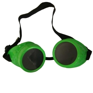Poizen Industries Steampunk Neon Goggles CG1 - green