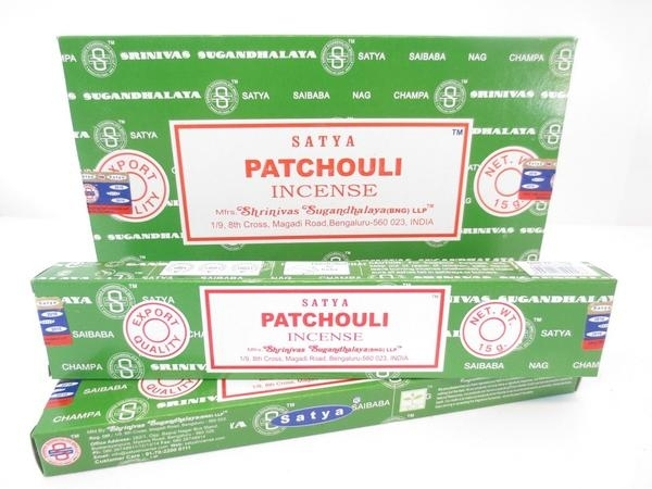 Satya Patchouli Incense Sticks