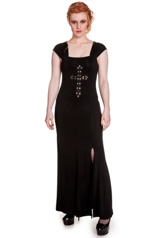 Spin Doctor ( Hell Bunny ) CRUCIFIX Dress