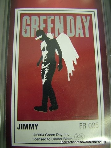Green Day poster flag - Jimmy