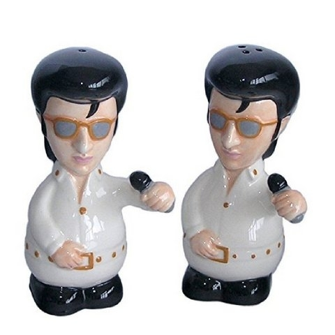 The King (Elvis) Salt & Pepper Set