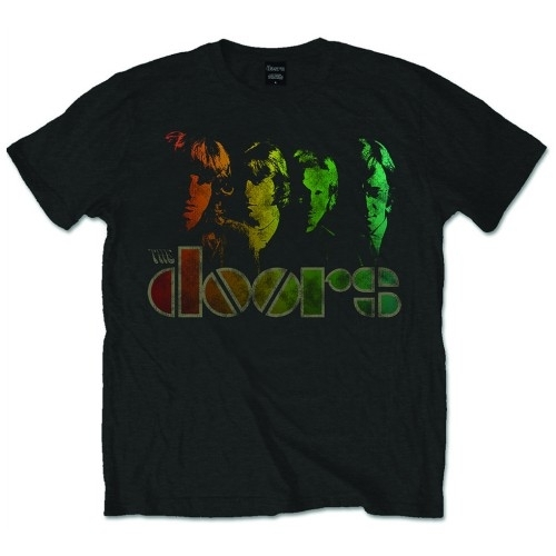 The Doors Spectrum Mens Black T Shirt