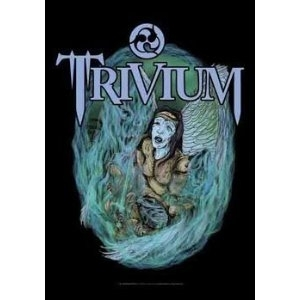 Trivium textile poster flag - Dying Arms